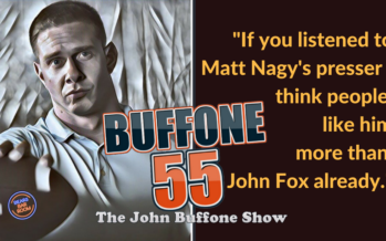 Buffone 55: The John Buffone Show – Matt Nagy & The New Coaches