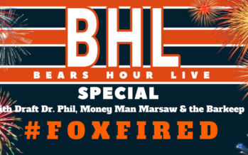 Bears Hour Live Special: Fox Fired