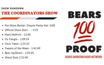 Bears 100 Proof – The Coordinators' Show