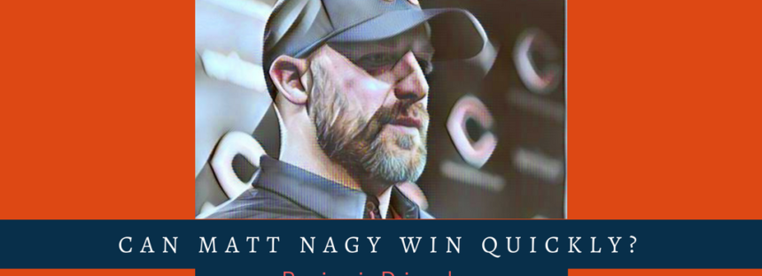 Can Matt Nagy Find Success Where Recent Previous Head Coaches Could Not?