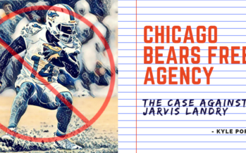 Chicago Bears Free Agency: The Case Against Jarvis Landry