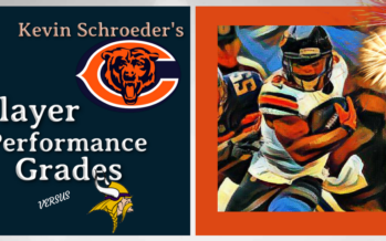 Kevin Schroeder's Bears Player Performance Grades vs Vikings