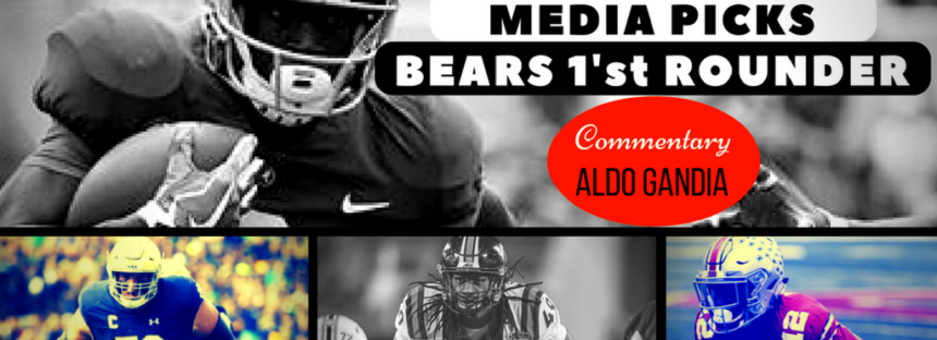 NFL Mock Drafts on the Chicago Bears 1.0