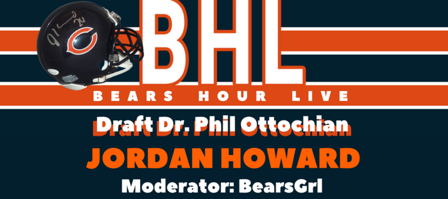 Bears Hour Live – Talking Jordan Howard