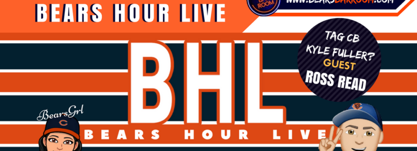 Bears Hour Live – Tag Kyle Fuller? Sitton & Freeman Gone!