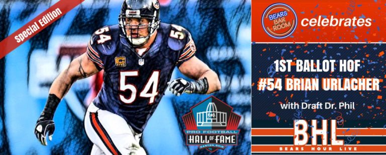 Brian Urlacher Hall of Fame