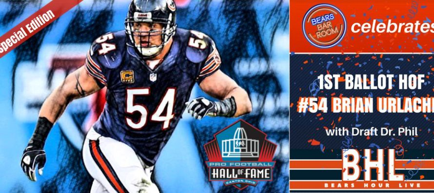 Bears Hour Live Special: Brian Urlacher Inducted Into The Hall of Fame